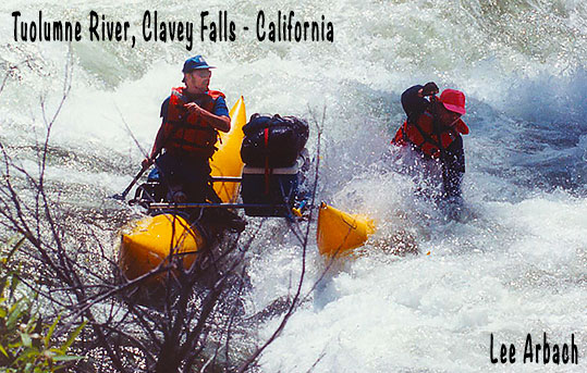 Tuolumne River Rafting Clavey Falls Lee Arbach