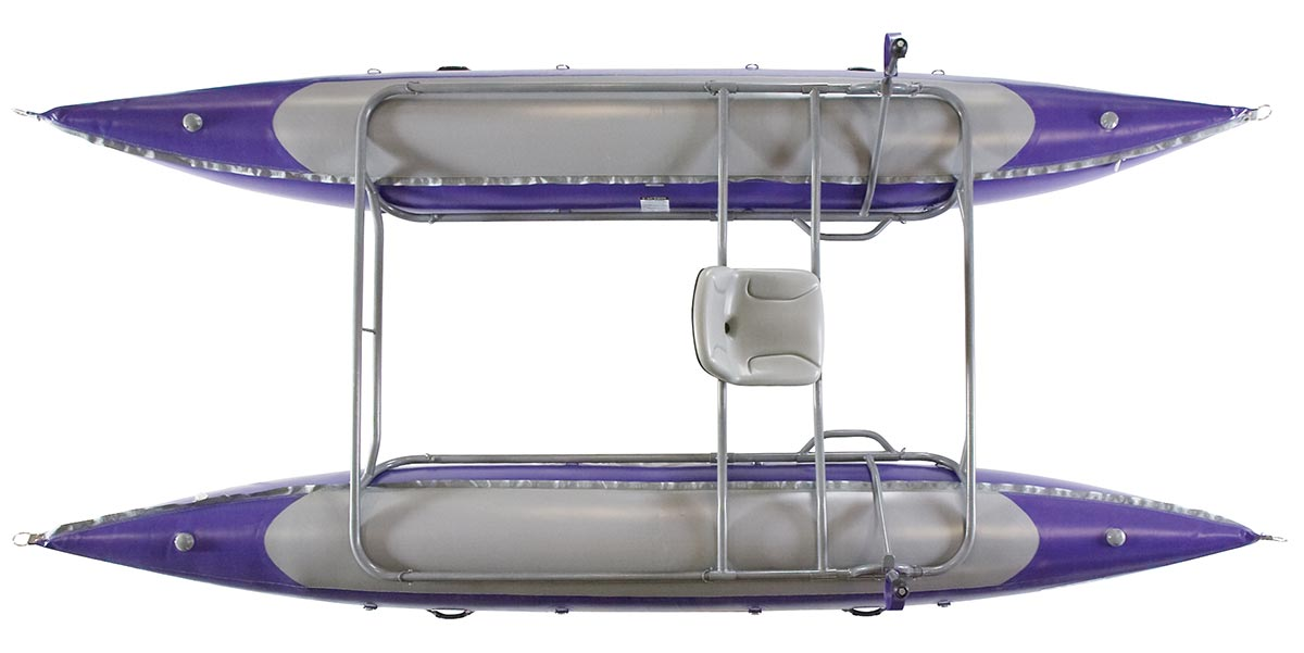 AIRE Whitewater Cataraft Jaguarundi Top View