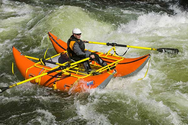 AIRE Cataraft on North Fork of the Payette River Idaho AIRE Raft Specialists